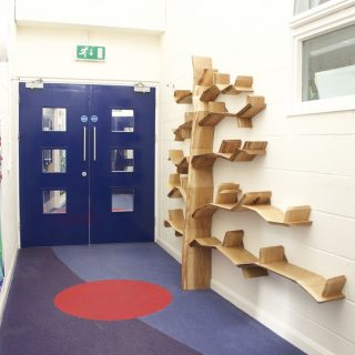 primary school tree shelf