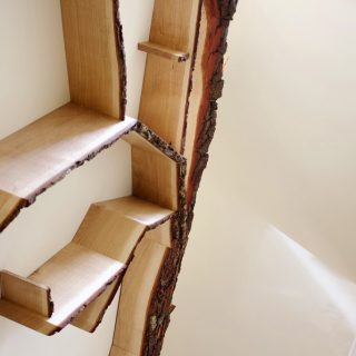 staircase shelf tree