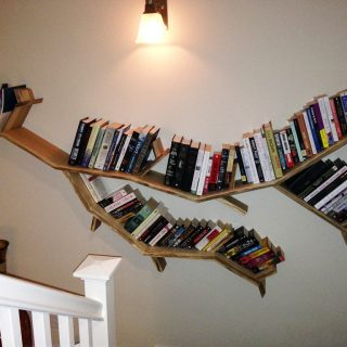 willow branch shelf
