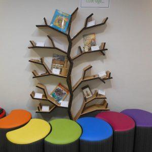 elm tree shelf tree bookcase school book shelf