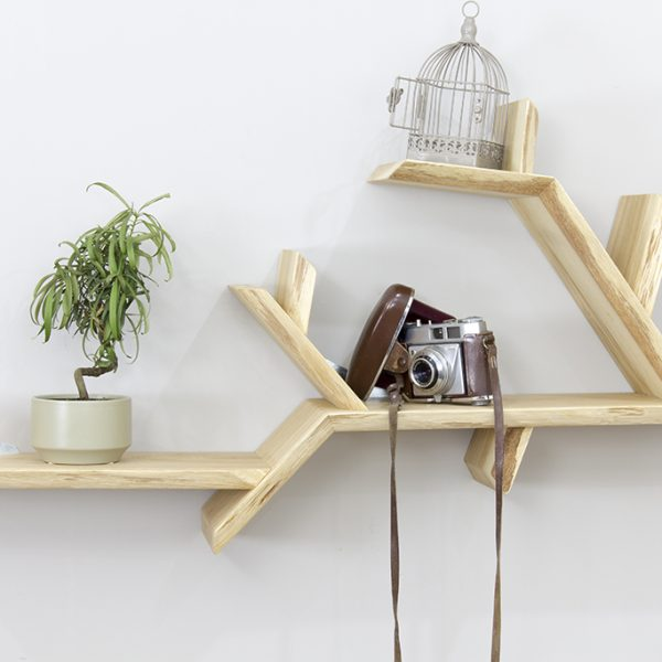 oak tree bookshelf solid oak branch shelf tree shelf
