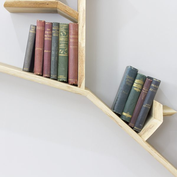 tree bookshelf solid wood tree shelf branch shelf
