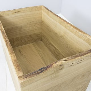 solid wood toy box oak toy box