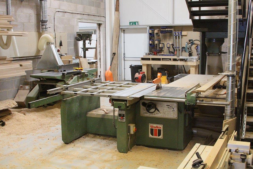 bespoak interiors machine shop II