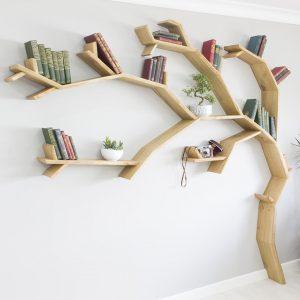 The Windswept Oak Tree Shelf