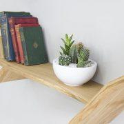 tree bookcase windswept oak tree bookshelf tree shelf