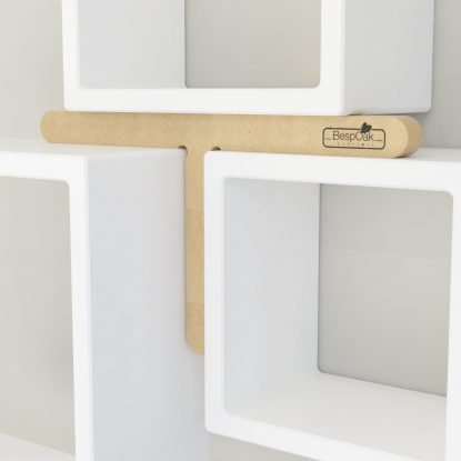 BespOak Interiors Square Shelf Alignment Tool