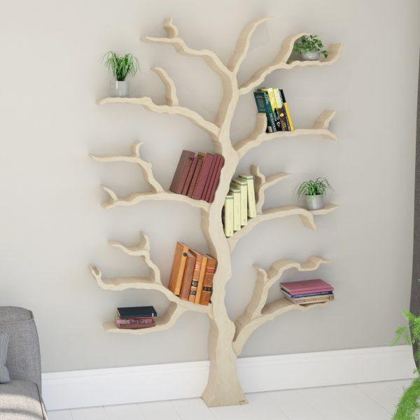itm bookshelf loading shelf superjare storage display image tree rack compact s is book bookcase