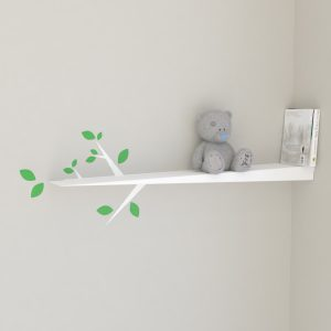 Nursery shelves kids bookshelf nursery bookshelf small tree branch shelf wall decal white straight tree shelf nursery shelf