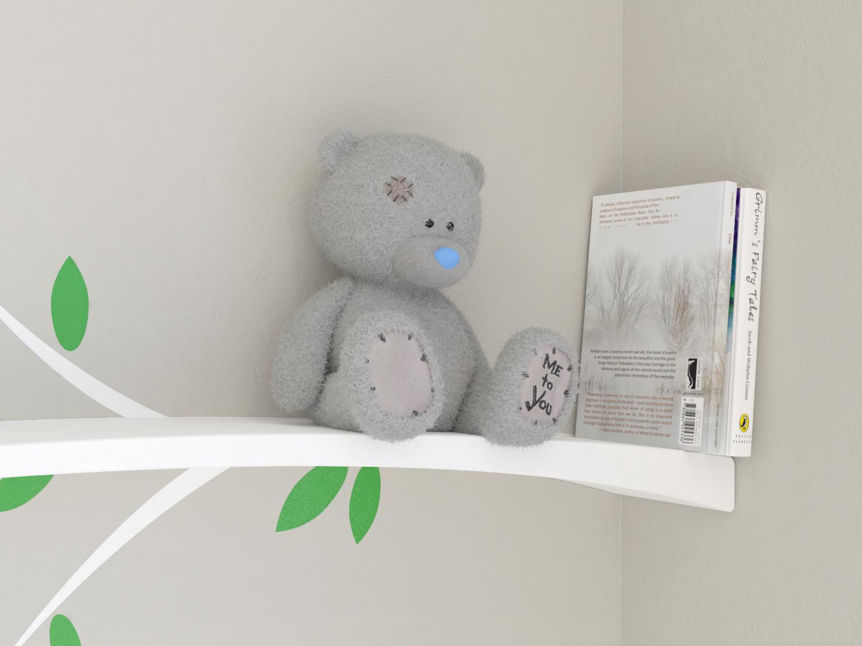 small black cubist image homeware display design bookshelves organizers floating home by white shelf umbra