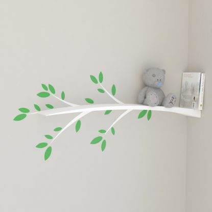 Nursery shelves kids bookshelf nursery bookshelf tree branch shelf wall decal white tree shelf nursery shelf