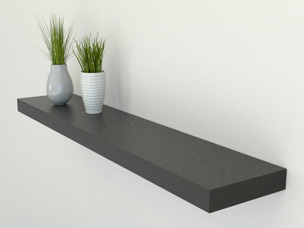 black oak floating shelf shelves oak wall shelf solid oak shelf
