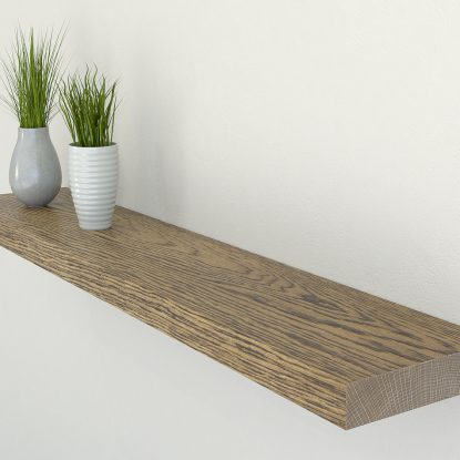 dark oak floating shelf shelves oak wall shelf solid oak shelf