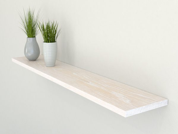 limed oak floating shelf slimline shelves oak wall shelf solid oak shelf