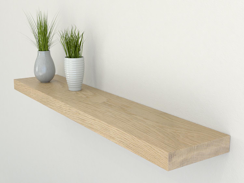 oak floating shelf oak floating shelves oak shelves. Black Bedroom Furniture Sets. Home Design Ideas