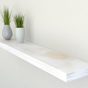 rustic white oak floating shelf shelves oak wall shelf solid oak shelf