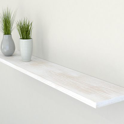 rustic white oak floating shelf shelves slimline oak wall shelf solid oak shelf
