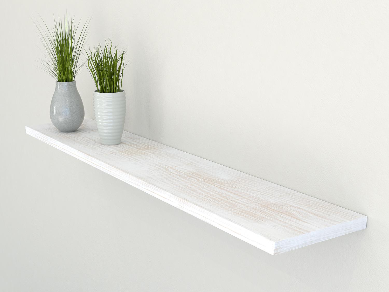 rustic white oak floating shelf shelves slimline oak wall shelf solid oak shelf