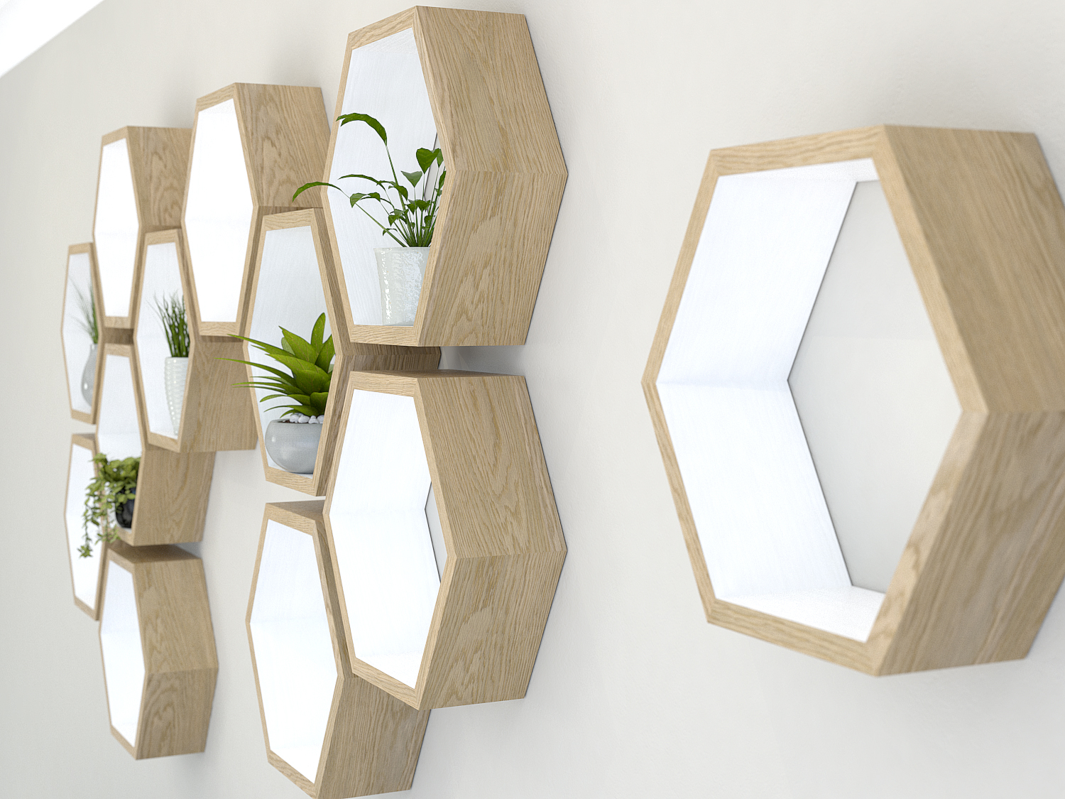 hexagon shelves honeycomb shelves hexagon shelf. Black Bedroom Furniture Sets. Home Design Ideas