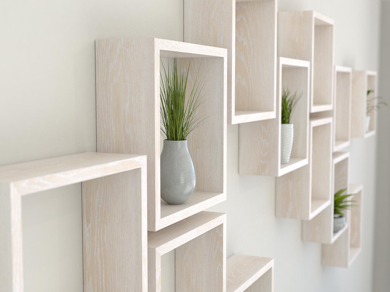 Square Shelves Cube Box Wall Boxes