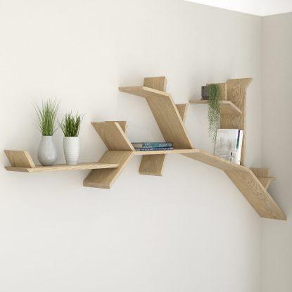 Tree Shelves Tree Bookcase Tree Shelf By Bespoak Interiors