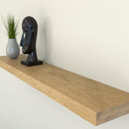 oiled oak floating shelf shelves oak wall shelf solid oak shelf